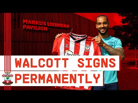 WALCOTT REACTS TO PERMANENT SWITCH | Theo Walcott outlines his Saints ambitions