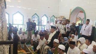 Cawapres KH Ma'ruf Amin Ziarah ke Makam Syekh Muhammad Arsyad Albanjary