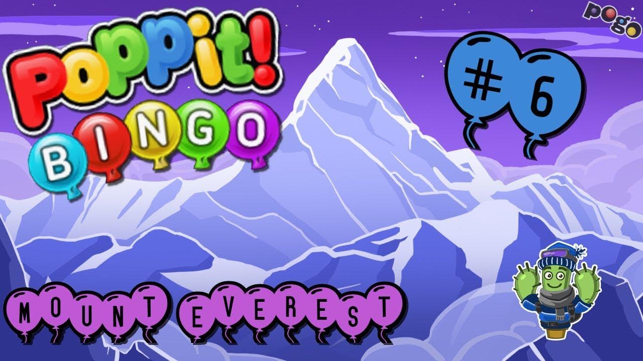 Pogo Games ~ Poppit! Bingo #6 - YouTube