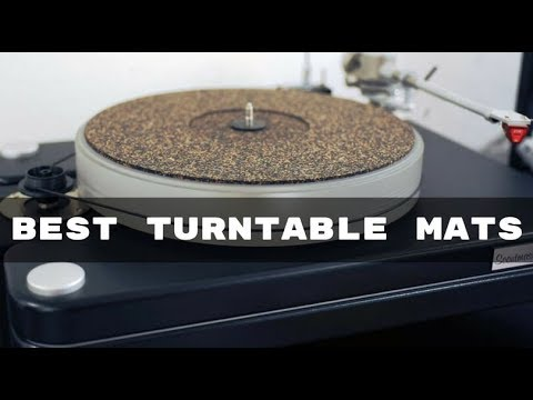 Best Turntable Mats for the Money - Top Turntable Mats of 2019