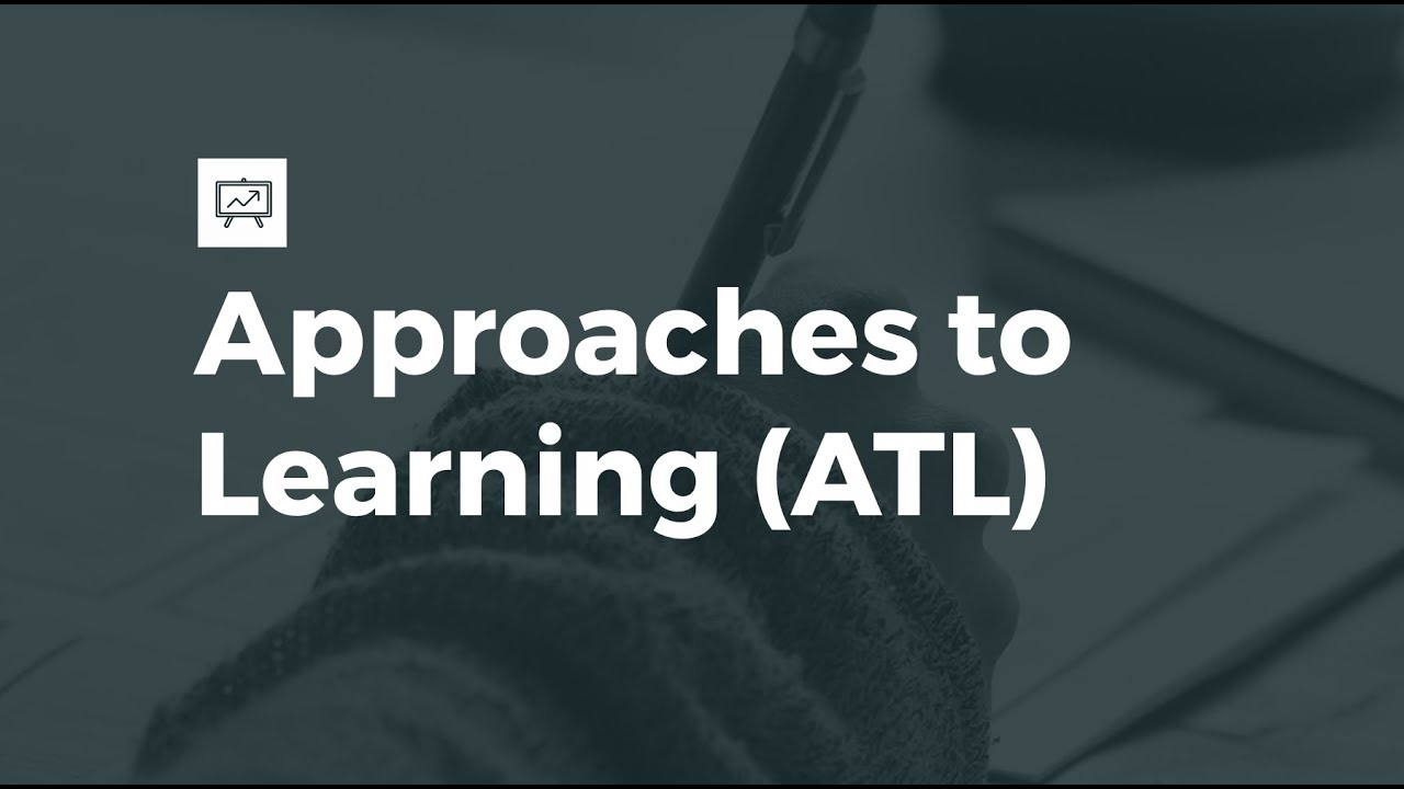 Approaches to Learning (ATL) Training IB MYP