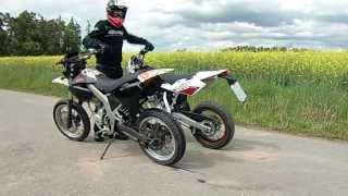 Soundcheck *Husqvarna SMR 125/Derbi Senda SM 125/KTM SX 150* REV LIMITER