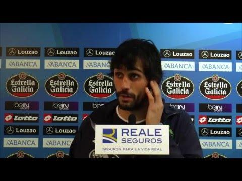 La plantilla del Deportivo valora la victoria sobre el Eibar