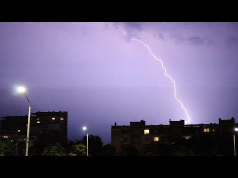 3 Lightning Storms around Varna - 25.07.2017