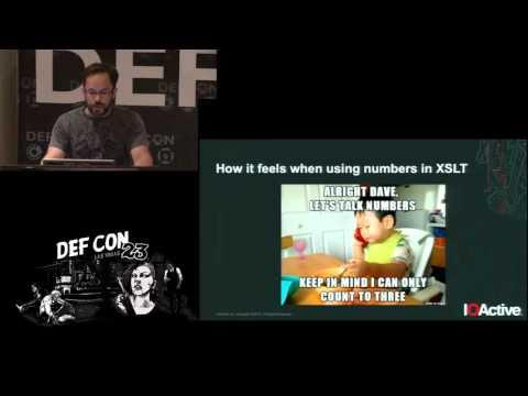 DEF CON 23 - Fernando Arnabold - Abusing XSLT for Practical Attacks