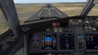 X-Plane 11 Zibo 737-800 Landing @ Sacramento