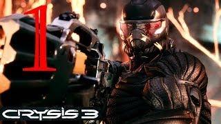Прохождение Crysis 3. Миссия 1. Пророк проснулся. Пост-Человек.