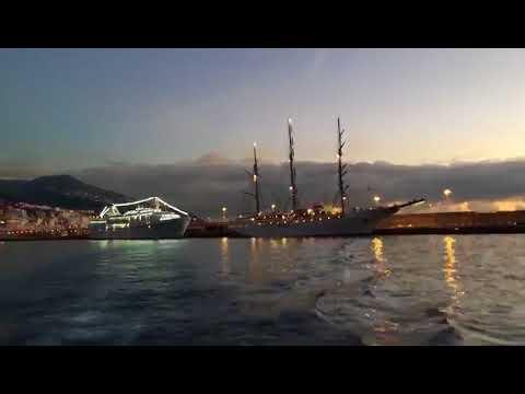 El Puerto de Santa Cruz de La Palma,  amanecer de 2 de diciembre de 2017