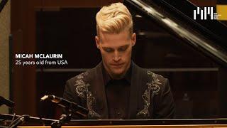 Semifinalist Micah McLaurin at Auditorium Gaber - Liszt, Chopin