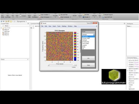 MATLAB tutorial: Advanced signal processing using spectrogram and  periodogram