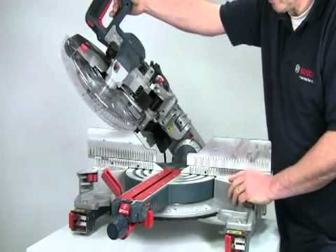 bosch gcm 12 gdl mitre saw dual bevel from power tools pro youtube. Black Bedroom Furniture Sets. Home Design Ideas