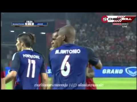Rangkuman JDT vs Muangthong United FC 2 Februari 2016 ACL