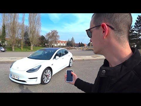 je-pilote-la-tesla-model-3-avec-mon-iphone!?-gadgets-et-technologies