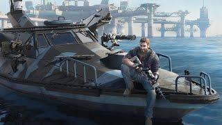 9 Minutes of Just Cause 3's Crazy Bavarium Sea Heist DLC