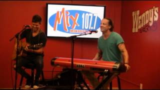 MIX 107.7 welcomes Daniel Powter to our Wendy's Listener Lounge!