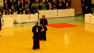 65th All Japan Kendo Championship 33   Round 2, Hayashida vs Yamana