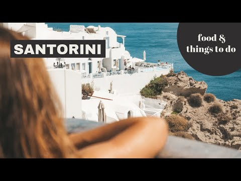 Santorini Travel Guide: a long weekend on this beautiful Greek island