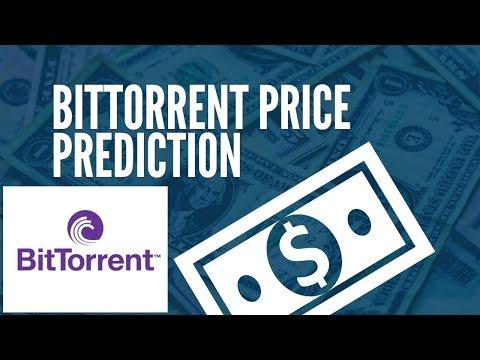 Realistic Bitorrent BTT Price Prediction 2019