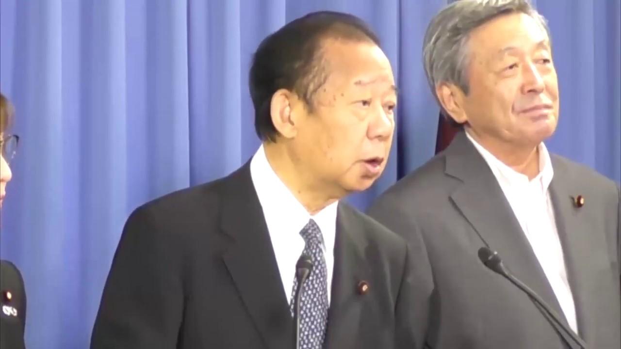 役員会後】二階俊博 幹事長(201...