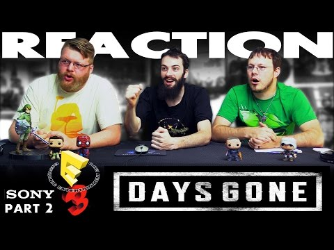 Days Gone Trailer REACTION!! Sony E3 2016 Conference 2/12