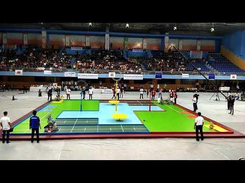 Robocon 2018    Quarters : COEP, Pune (Team Red) vs MIT, Pune (Team Blue)