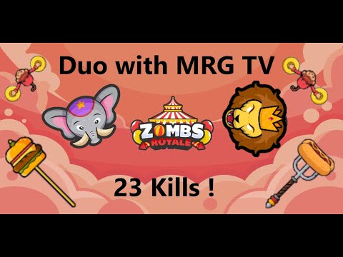 Zombs Royale | New Season + 23 Kills In Duo With RMG TV !!!
