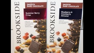 Brookside Summer Berry Crisp And Blueberry & Cranberry Almond Chocolate Review