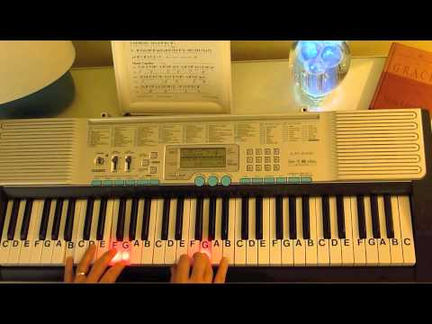 How to Play ~ Frosty the Snowman-Key C ~  Jimmy Durante & Various Artists ~ LetterNotePlayer ©