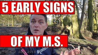 5 Early Signs of MS (Multiple Sclerosis) - pre-diagnosis symptoms of M.S. that a neurologist can see