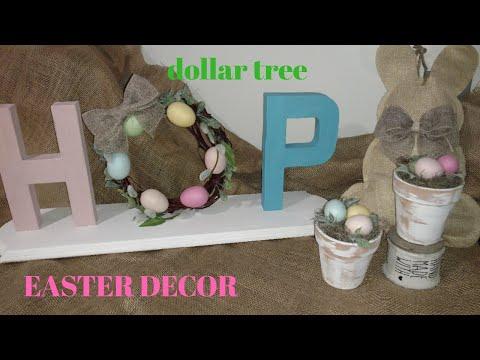Diy easter 🌱decor/ diy dollar tree easter decor / diy spring decor