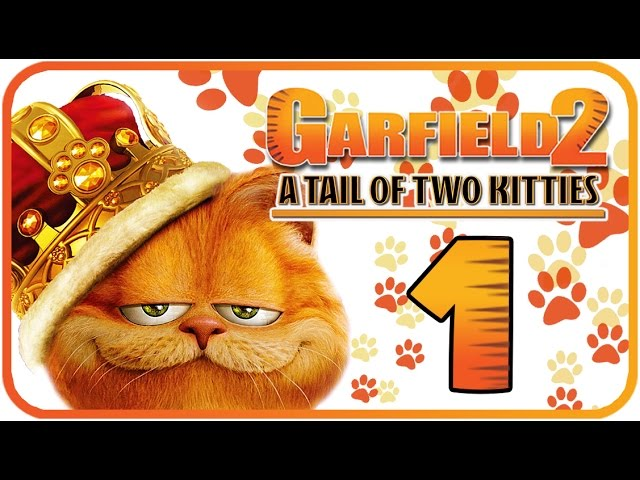 Garfield 2 A Tail Of Two Kitties Walkthrough Part 1 Ps2 Pc Youtube