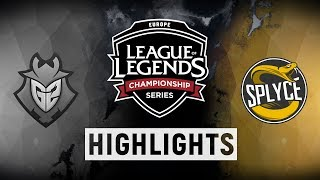 Video G2 vs. SPY - EU LCS Week 1 Day 2 Match Highlights (Summer 2018) download MP3, 3GP, MP4, WEBM, AVI, FLV Juni 2018