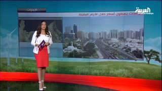 أمطار رعدية غزيرة على مناطق عديدة في سلطنة عمان