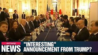 make an 'interesting announcement' about U.S.-Japan ties: Official
