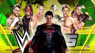 Superman Glitch - 6-Man Ladder Match [Money in the Bank] WWE 2K15