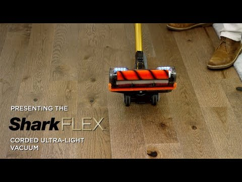 Presenting the SharkFLEX™ Corded Ultra-Light Vacuum