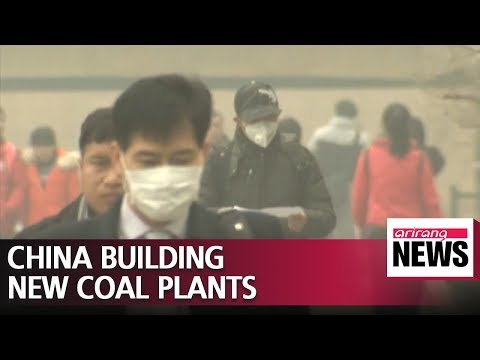 China building 113 coal power plants near to Korean Peninsula, could make fine dust..