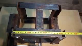 Обзор навески для минитрактора