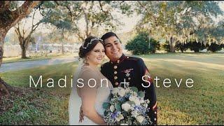 Madison + Steve Wedding Video   Brooksville, Florida   Saxon Manor