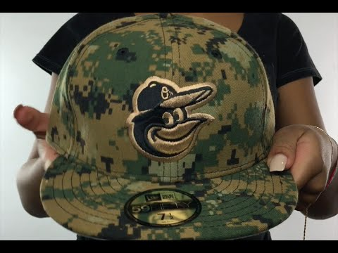 ca319a3c751a7e Orioles 2016 MEMORIAL DAY 'STARS N STRIPES' Hat by New Era - YouTube