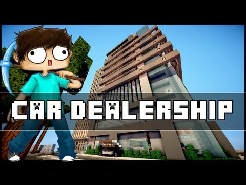 Minecraft - Car Dealership