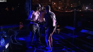 John, Flea And Chad Were Surprised By Anthony - The Band Didn't Play ''Californication''!
