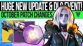 Destiny 2 | HUGE NEW UPDATE & PATCH CHANGES! Powerful Drop Buff, Sleeper Nerf, Festival Loot & More!