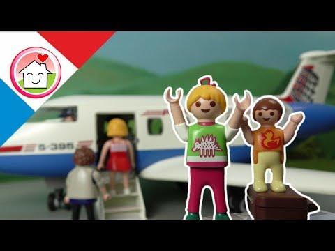 Playmobil en français A l´aeroport - La famille Hauser
