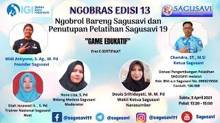 """Download Ngobras 13 """"Game Edukatif"""""""