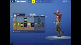 Fortnite Shimmer Emote for 1 hour 1 minute and 30 seconds!