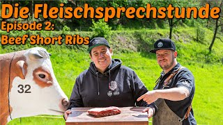 Die Fleischsprechstunde: BEEF SHORT RIBS