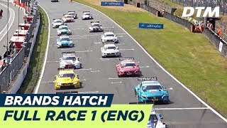 DTM Brands Hatch 2018 - Race 1 (Multicam) - RE-LIVE (English)