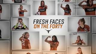 Texas Soccer Fresh Faces on the Forty [Sept. 14, 2018]