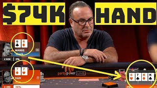 Poker Player Manig Loeser Makes Unbelievable Fold!
